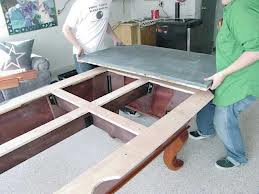Pool table moves in Lubbock Texas