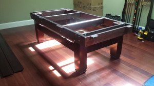 Correctly performing pool table installations, Lubbock Texas