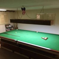 Raper's Snooker Table