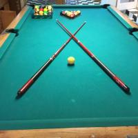 8ft. Gandy Pool Table