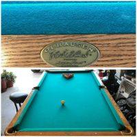 Olhausen Pool Table Blue Felt