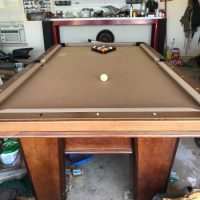 Boessling Custom Pool Table