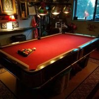 Limited Edition Harley-Davidson Pool Table